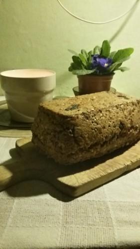 DOmowy chleb kaszowy