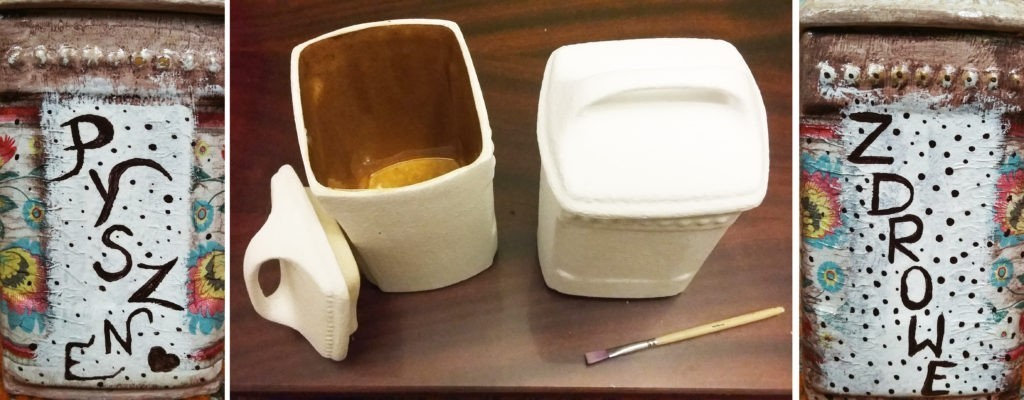 Ceramiczne pojemniki na coś pysznego i zdrowego