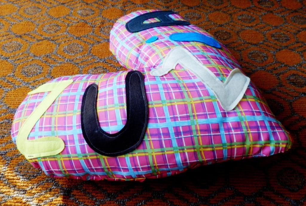 Poduszka dla Zuzi
