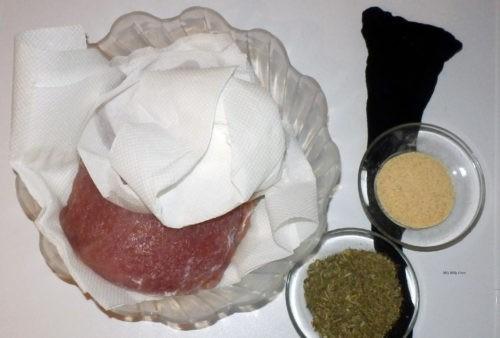 Schab dojrzewający - przygotowania